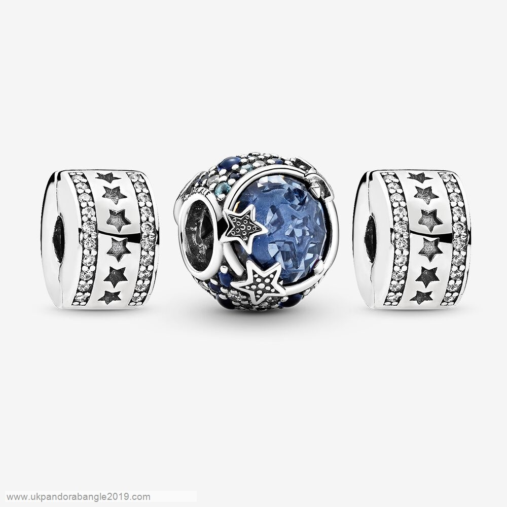 Authentic Pandora Sparkling Stars Charm Pack