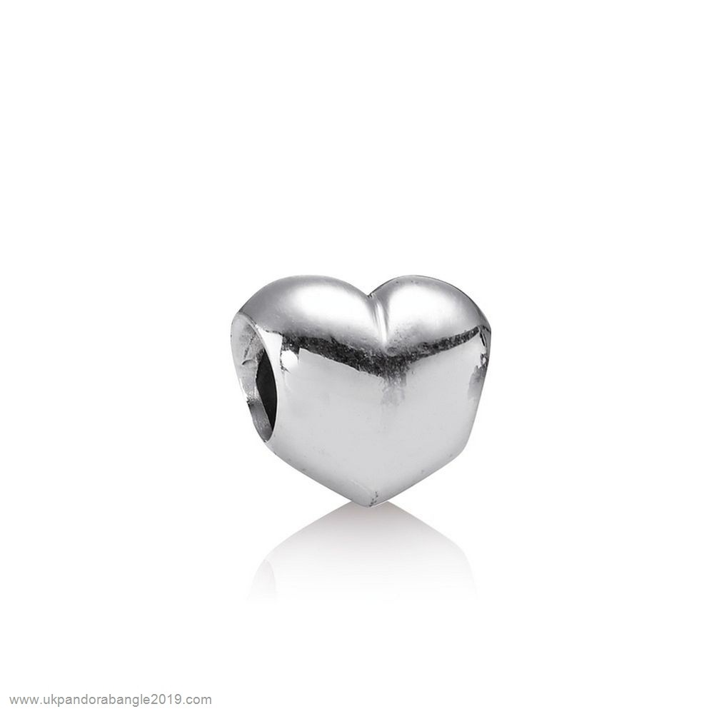 Authentic Pandora Pandora Valentine'S Day Charms Big Smooth Heart Charm