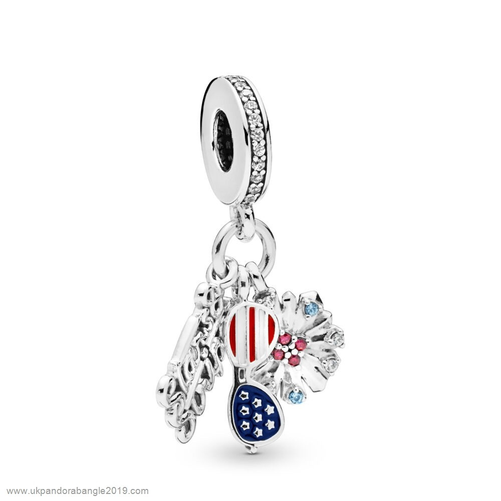 Authentic Pandora American Icons Dangle Charm