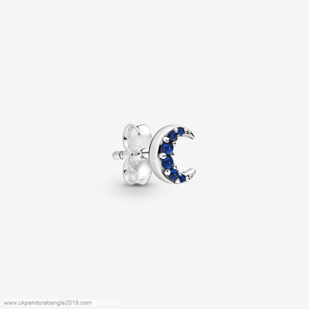 Authentic Pandora My Moon Single Stud Earring
