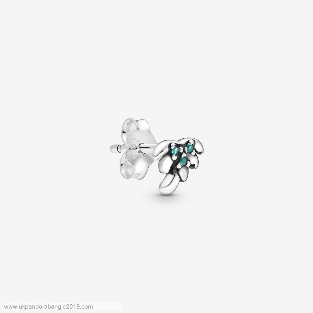 Authentic Pandora My Palm Tree Single Stud Earring