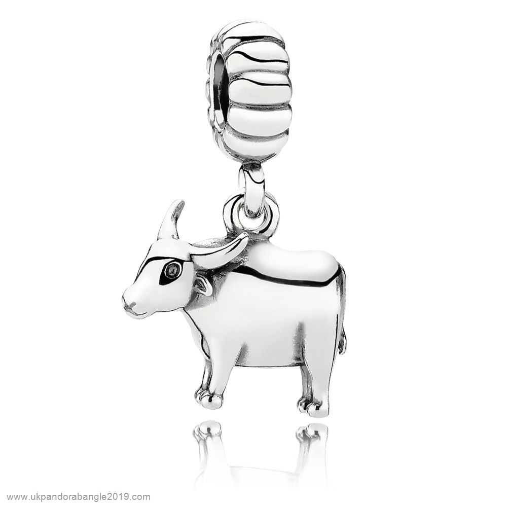 Authentic Pandora Chinese Zodiac Ox Pendant Charm