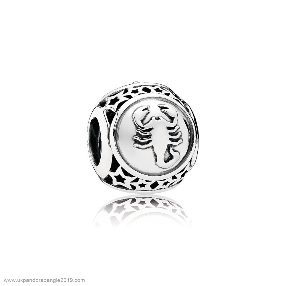 Authentic Pandora Pandora Zodiac Celestial Charms Scorpio Star Sign Charm