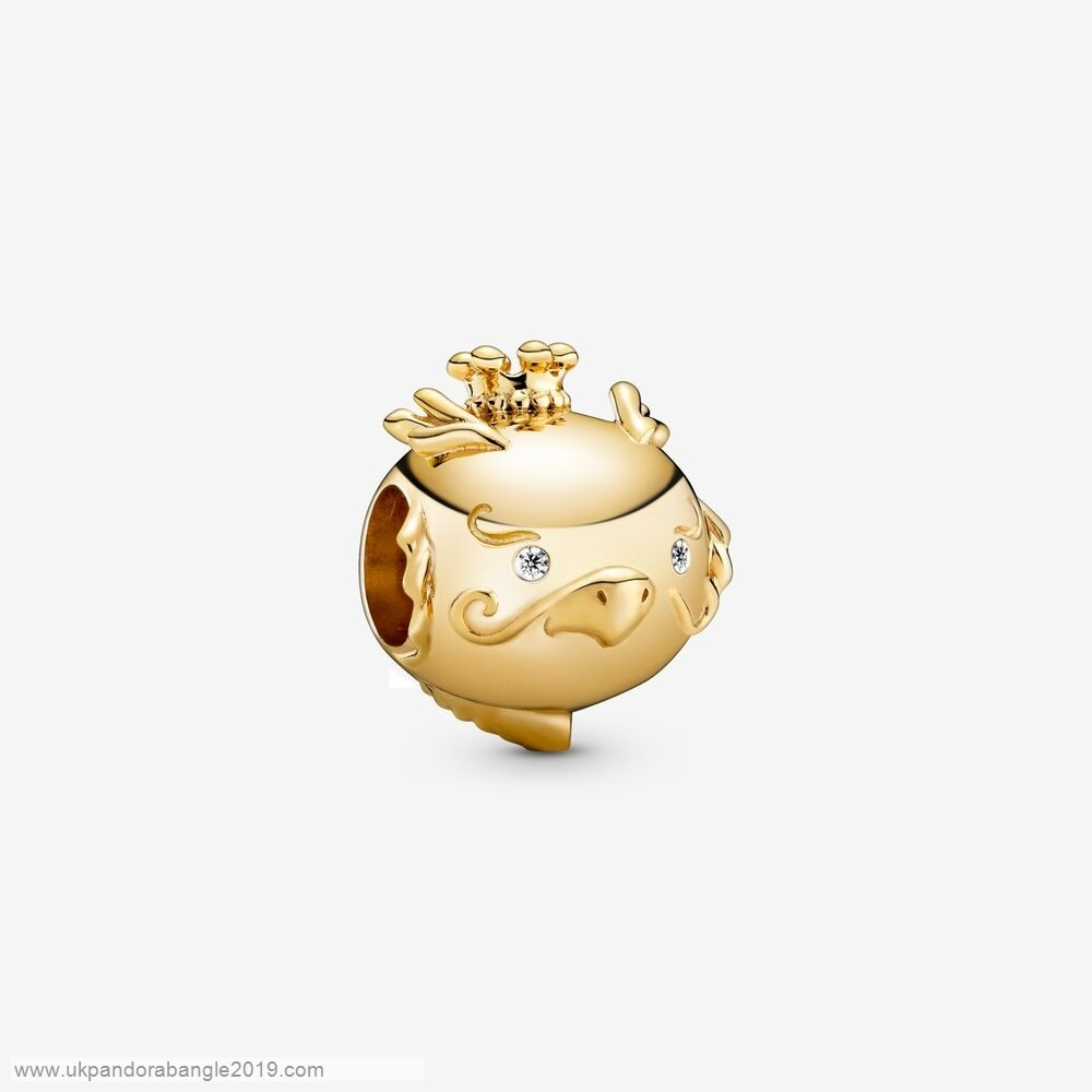 Authentic Pandora Shining Dragon Charm