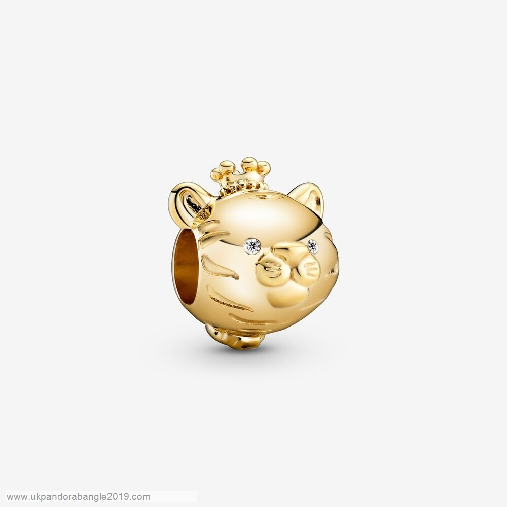 Authentic Pandora Shining Tiger Charm